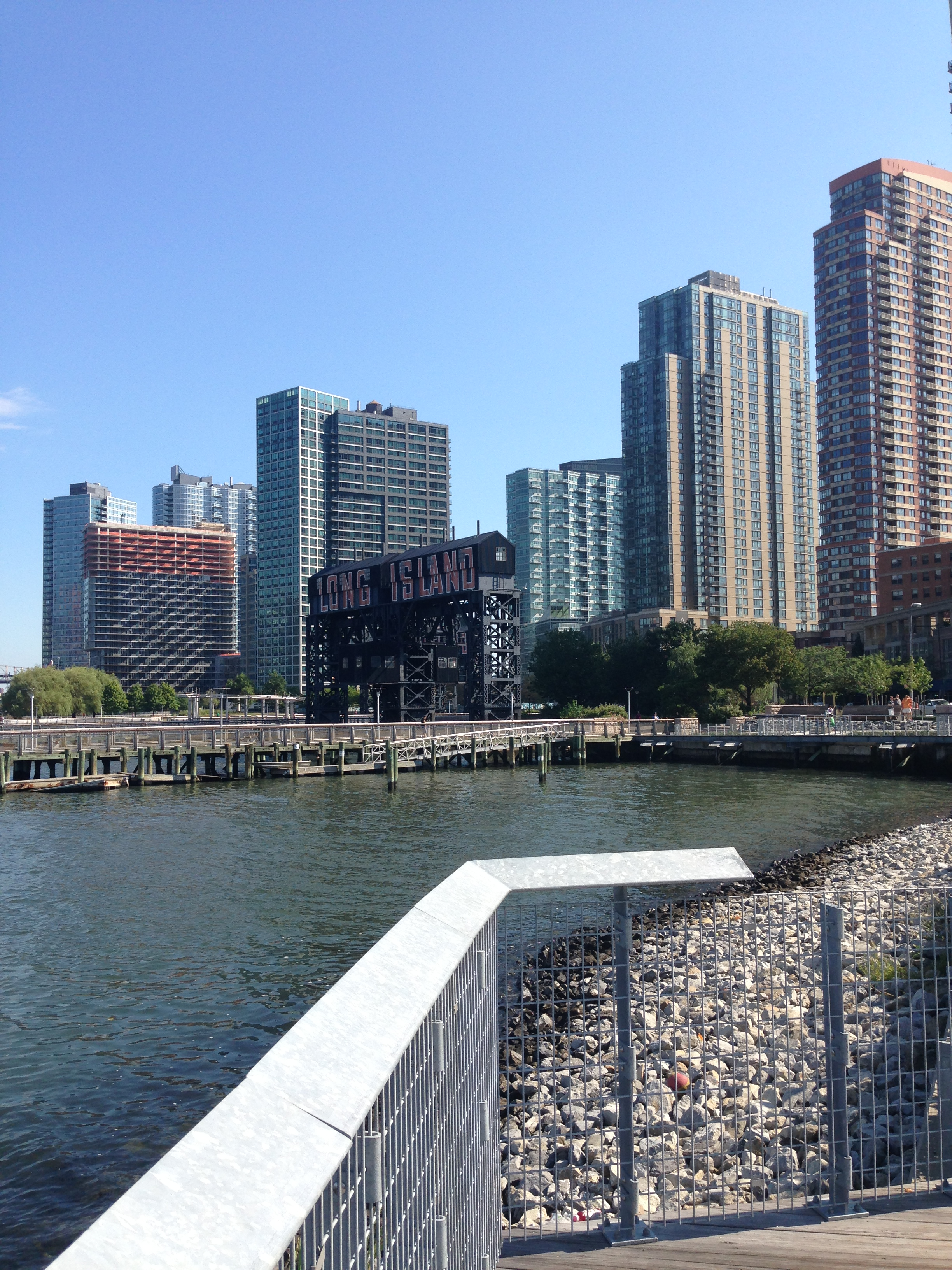 Long Island City - The perfect place to view the New York skyline